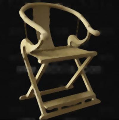 圈椅33D模型【ID:117257528】