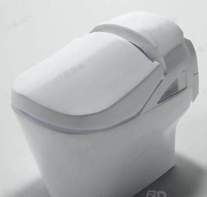 马桶23D模型【ID:117260995】