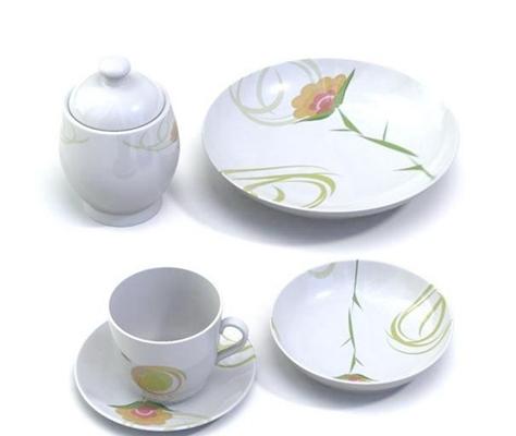 茶壶茶杯组合43D模型【ID:117306005】