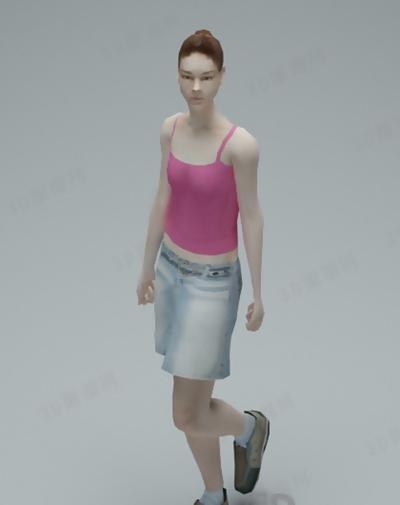 模特83D模型【ID:117308874】
