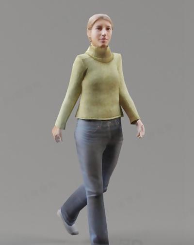 模特113D模型【ID:117308880】