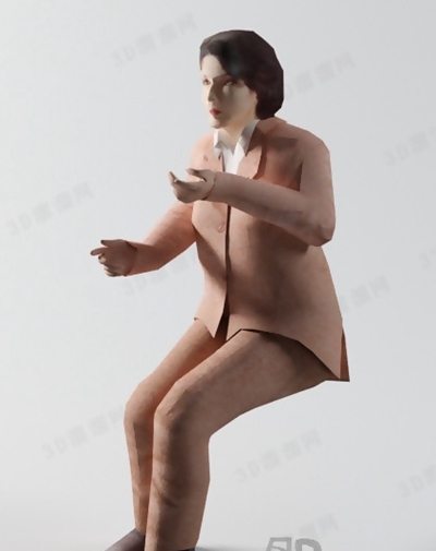 模特293D模型【ID:117309819】
