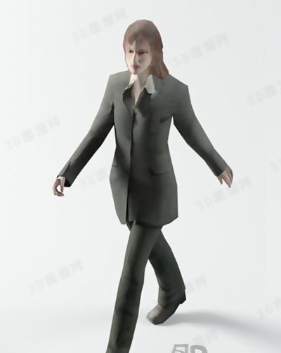 模特323D模型【ID:117309823】