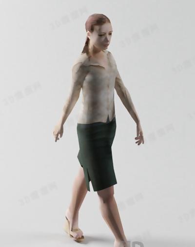 模特343D模型【ID:117309829】