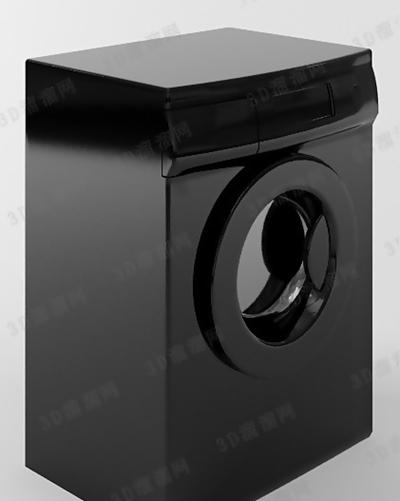 洗衣机83D模型【ID:117325552】