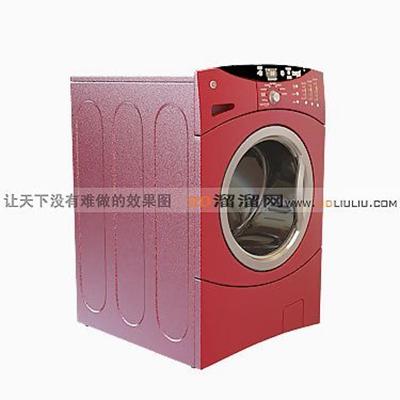 洗衣机103D模型【ID:117325555】