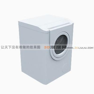 洗衣机123D模型【ID:117325559】