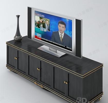 电视墙23D模型【ID:117369357】