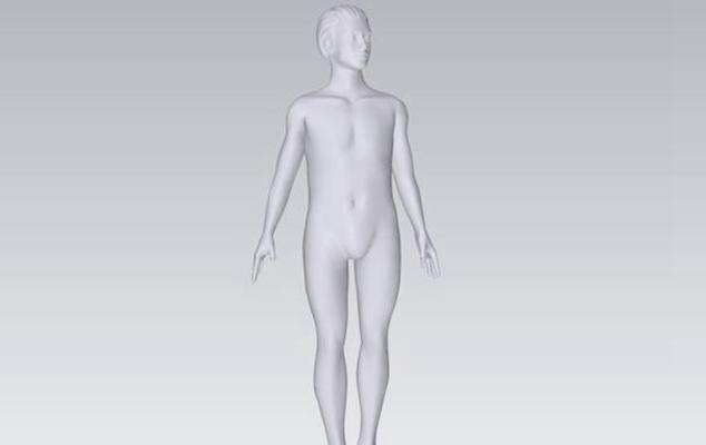 模特23D模型【ID:117373809】
