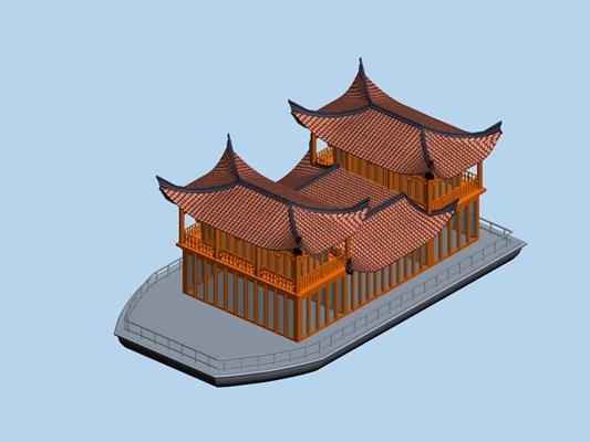 游轮3D模型【ID:117529062】