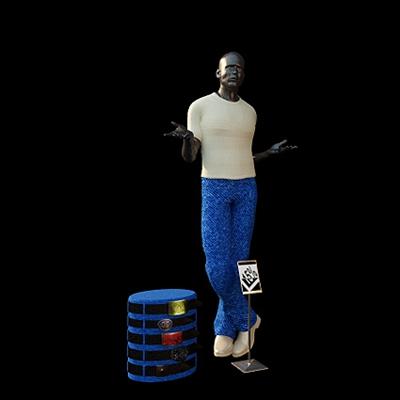 模特3D模型【ID:117560883】