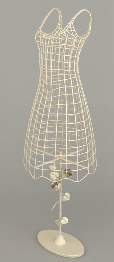 铁艺模特3D模型【ID:117560891】