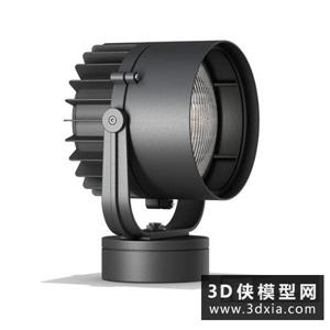 射燈國外3D模型【ID:929817198】