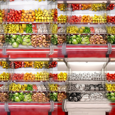 现代冰柜3D模型【ID:124895661】