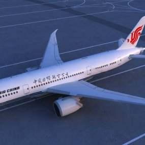 现代飞机下载3D模型【ID:119602492】