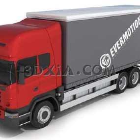 卡车3D模型【ID:13120】