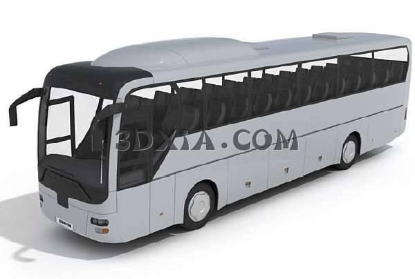 客车3D模型
