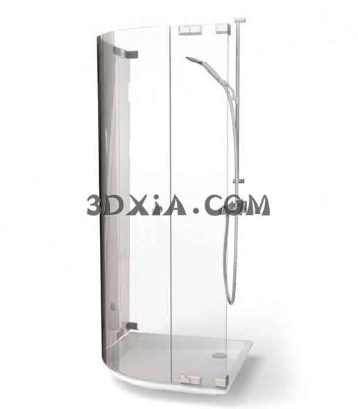 时尚的沐浴间3D模型【ID:13144】