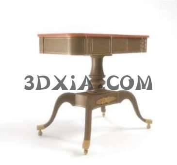 可爱的桌子3D模型下载【ID:13438】