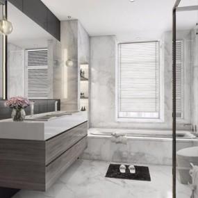现代北欧卫浴3D模型【ID:528020433】