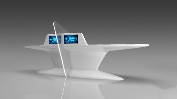 现代展示台3D模型【ID:326234856】