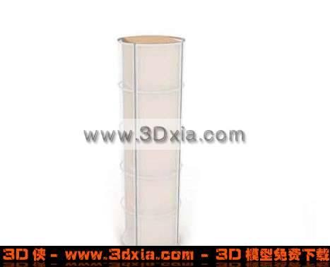 漂亮的大灯柱3D模型【ID:1511】