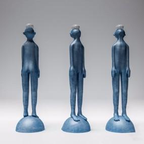 人物雕塑3D模型【ID:928328150】