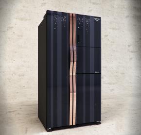 現代SAMSUNG冰箱冰柜3D模型【ID:127753275】