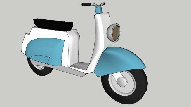 坦迪滑板车SU模型【ID:437398935】