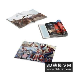 书国外3D模型【ID:929826038】