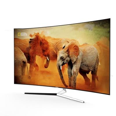 现代液晶电视显示器3D模型【ID:16843936】