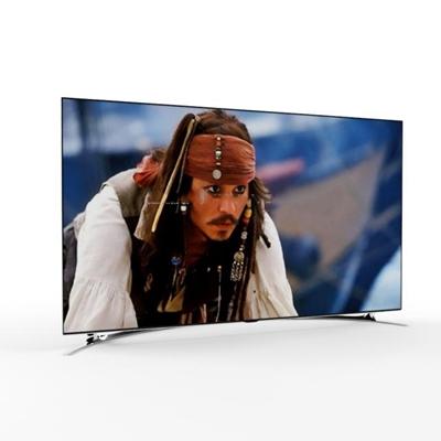 现代电视机液晶显示器3D模型【ID:16856336】