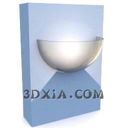 最新壁灯A79-3DS格式3D模型【ID:16888】