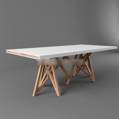 现代简约风格桌子国外模型3D模型【ID:16898024】