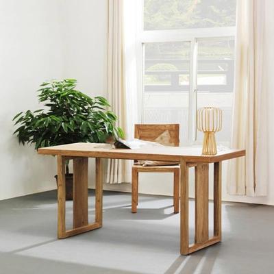 中式风格实木办公桌椅桌椅组合3D模型【ID:16909024】