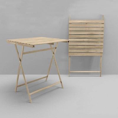 北欧实木户外桌欧式风格3D模型【ID:16913029】