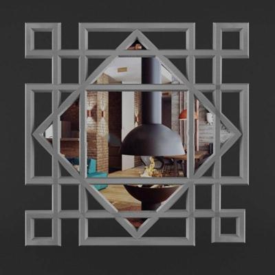 中式创意窗花中式3D模型【ID:16925493】