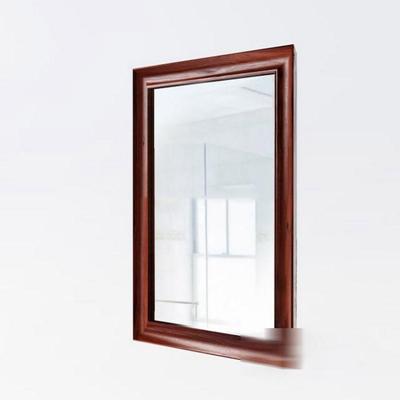 现代简约实木壁挂镜子模型3D模型【ID:16925592】