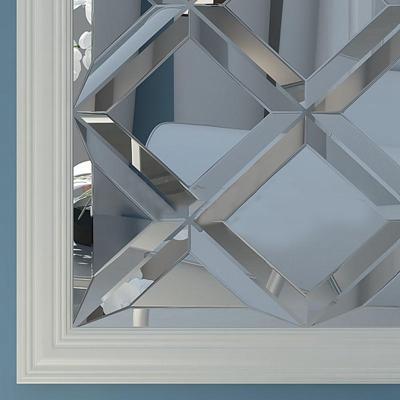 现代简约玻璃装饰镜模型3D模型【ID:16925692】