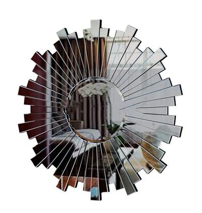 现代创意时尚立面装饰镜模型3D模型【ID:16925696】