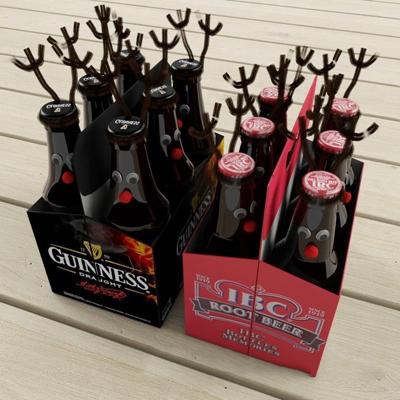 啤酒模型 玻璃瓶 饮料 啤酒 啤酒瓶