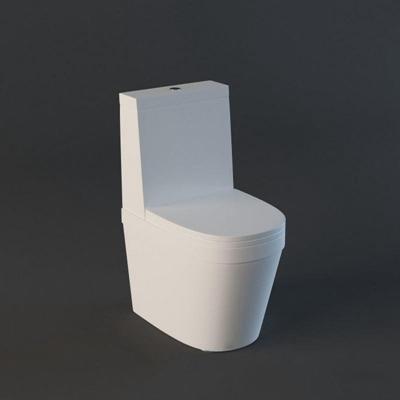 马桶017白色3D模型【ID:16954796】