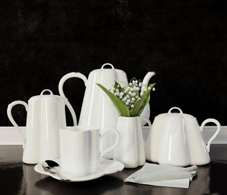 现代陶瓷茶具3D模型【ID:16986103】