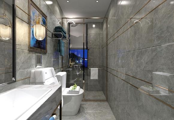 现代卫浴空间3D模型【ID:16998764】