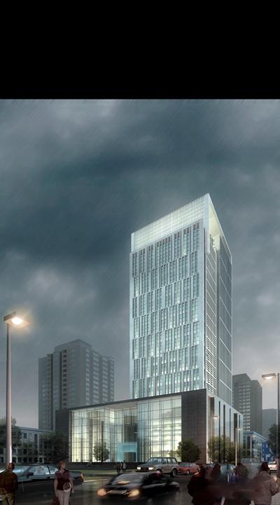 现代建筑外观3D模型【ID:17005645】