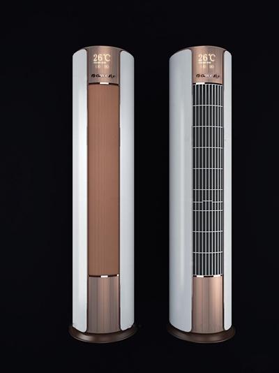 现代落地空调3D模型【ID:17010640】
