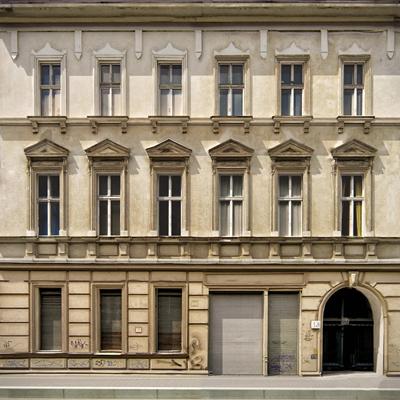 欧式建筑立面外观3D模型【ID:17056647】