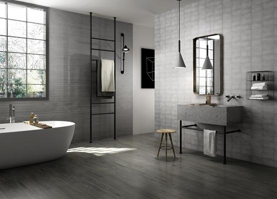 工业风卫生间浴室3D模型【ID:17064163】