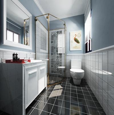 北欧卫浴空间3D模型【ID:17076862】