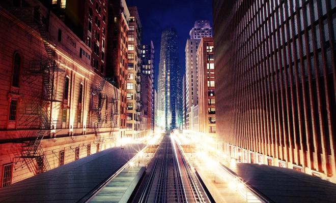 现代城市建筑街景3D模型【ID:17081241】